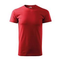 Marškinėliai raudoni vyriški 12907 160g 3.40090