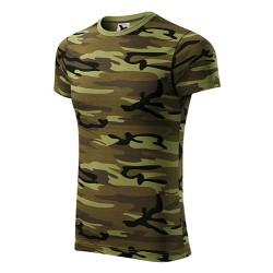 Marškinėliai žali kamufliažiniai 14434 3.40019