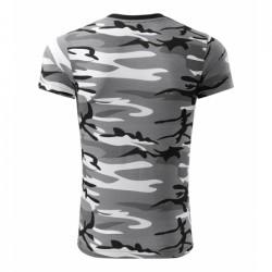 Marškinėliai pilko kamufliažo 14432 33.4004