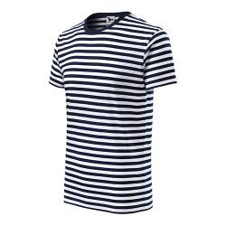 Marškinėliai mėlynai dryžuoti 80302 3.4005