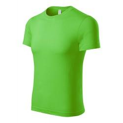 Marškinėliai obuolio žalumo, universalūs P7192 3.4008